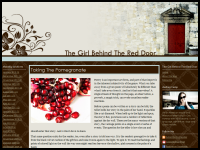 The Girl Behind the Red Door